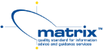 Matrix Quality Standard Badge Logo